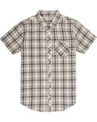 Billabong Multicolor Men's Check Short Sleeve Shirt for men