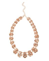 Coast - Metallic Rodez Sparkle Necklace - Lyst