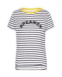 Sugarhill - White Mimi Dreamer T-shirt - Lyst