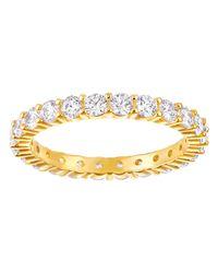 Swarovski - Metallic Vittore Ring - Lyst