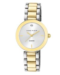 Anne Klein Metallic Liberty Watch