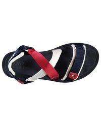 Tommy Hilfiger Red Strap Sandals for men
