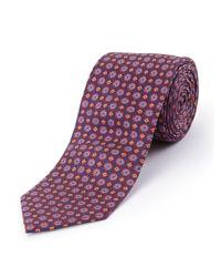 Skopes | Blue Fancy Silk Tie for Men | Lyst