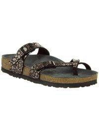 Birkenstock Black Mayari Cross Strap Sandals for men