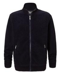 Craghoppers Blue Men's Leathen Insulating Fleece Jacket for men