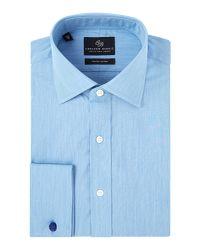 Chester Barrie - Blue Contemporary Eoe Shirt for Men - Lyst