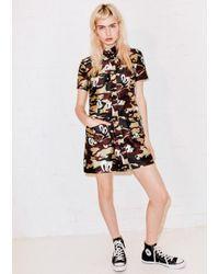 House of Holland - Multicolor Khaki Hattie Shirt Dress - Lyst