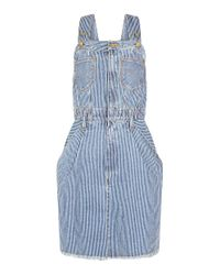 House of Holland | Blue Lee Dungaree Dress | Lyst
