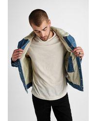 Hudson - Blue Denim Trucker Jacket for Men - Lyst