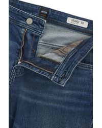 BOSS Blue Relaxed-fit Jeans In Comfort-stretch Denim for men