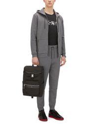 HUGO | Gray 'destin' | Jersey Cotton Lounge Pants for Men | Lyst