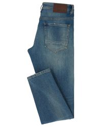BOSS Orange | Blue Tapered-fit Jeans In Vintage Comfort Denim for Men | Lyst