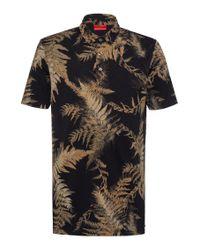 HUGO Multicolor Slim-fit Polo Shirt In Mercerised Piqué for men