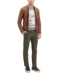 BOSS Orange Gray Regular-fit Cotton T-shirt With Polaroid Print for men
