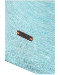 BOSS Orange - Blue Cotton T-shirt: 'typicco' for Men - Lyst
