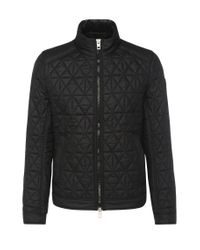 BOSS Orange | Black Slim-fit Biker Jacket In A Padded And Quilted Fabric: 'obray' for Men | Lyst