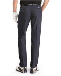 BOSS Green | Blue 'hakan' | Slim Fit, Coolmax Performance Golf Pants for Men | Lyst
