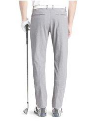 BOSS Green   Gray 'hivas Pro'   Regular Fit, Stretch Melange Performance Pants for Men   Lyst