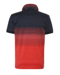 BOSS Green - Red 'paddy 3' | Modern Fit, Cotton Polo for Men - Lyst