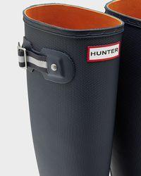 Hunter Blue Women's Original Sissinghurst Tall Rain Boots