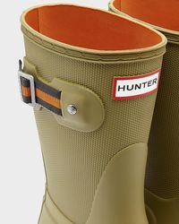 Hunter Brown Women's Original Sissinghurst Short Rain Boots