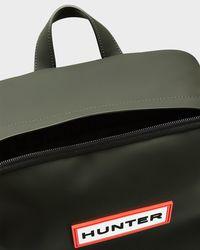 Hunter Green Original Rubberised Backpack for men