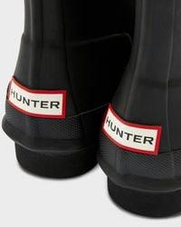 Hunter Black Women's Original Lace Up Boots