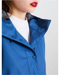 Hunter Blue Women's Original Light Rubberized Coat