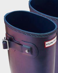 Hunter - Blue Original Nebula Tall Rain Boots - Lyst