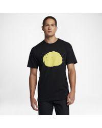 Hurley Black X Viper Premium Splatter T-shirt for men