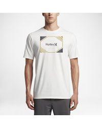 Hurley White Chopped T-shirt for men