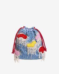 Hvisk Pouch Cloud Bead - Multicolor