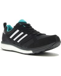 Adizero Tempo 9 Adidas de hombre de color Black