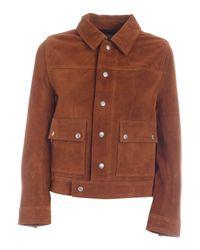 Zadig & Voltaire Pockets Jacket In Brown