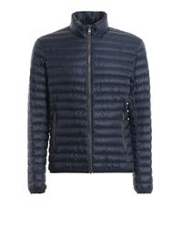 Colmar Blue Tech Fabric Quilted Puffer Jacket for men