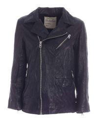 Zadig & Voltaire Notch Lapels Jacket In Black