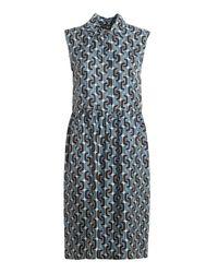 Max Mara Blue Ostuni Dress