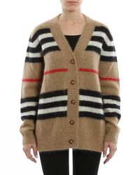Burberry Natural Vintage Check Cardigan