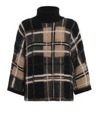 Max Mara Black Sequin Sweater