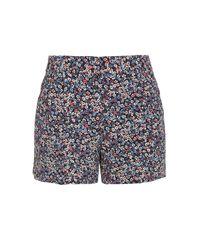 Michael Kors Multicolor Floral Printed Shorts