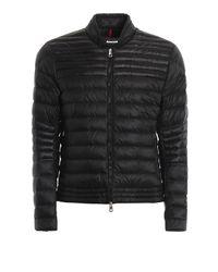 Moncler Black Kavir Quilted Puffer Jacket for men