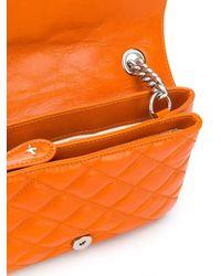 Pinko Love Mini Soft Mix Orange Bag