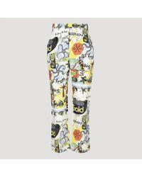 Martine Rose Multicolor Graphic Print Pants for men