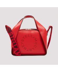 Stella McCartney Red Stella Logo Cross Body Bag Unica