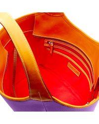 Dooney & Bourke - Purple Patterson Leather Penelope - Lyst