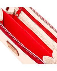Dooney & Bourke Multicolor Patterson Leather Zip Around Phone Wristlet