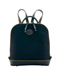Dooney & Bourke - Black Nylon Zip Pod Backpack - Lyst