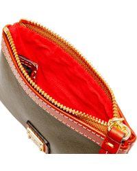 Dooney & Bourke - Red Calf Medium Wristlet - Lyst