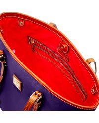 Dooney & Bourke - Purple Pebble Grain East West Shopper - Lyst