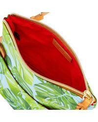 Dooney & Bourke - Green Montego Foldover Zip Crossbody - Lyst
